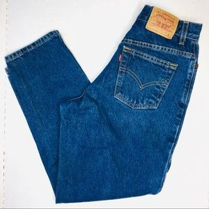 Vintage Levi's 550 High Rise Wedgie Fit Jeans